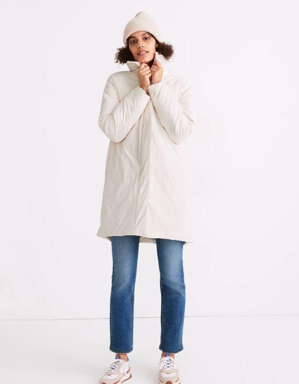 Comforter-Inspired Coats