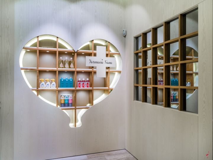 Sweetheart Pharmacy Interiors