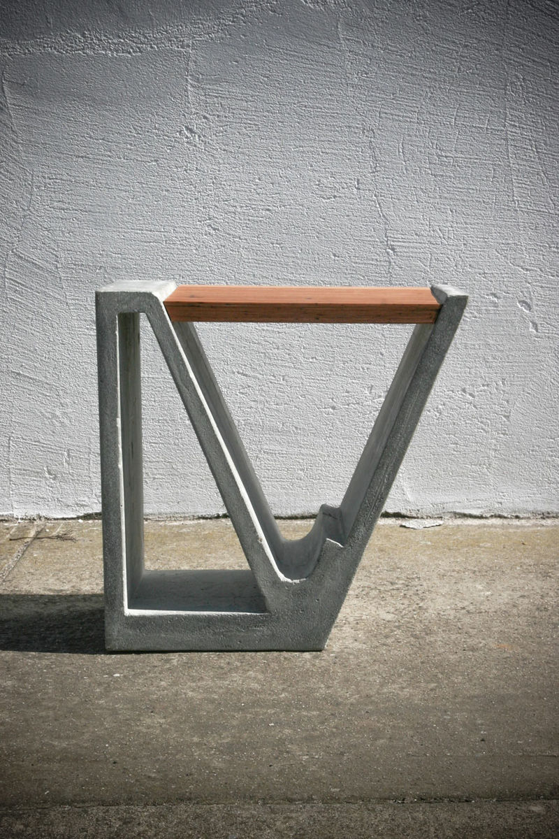 Concrete-Wood Furniture