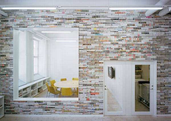 Magazine Wallpaper Check Out This Great DIY Decor Idea For Your Old
