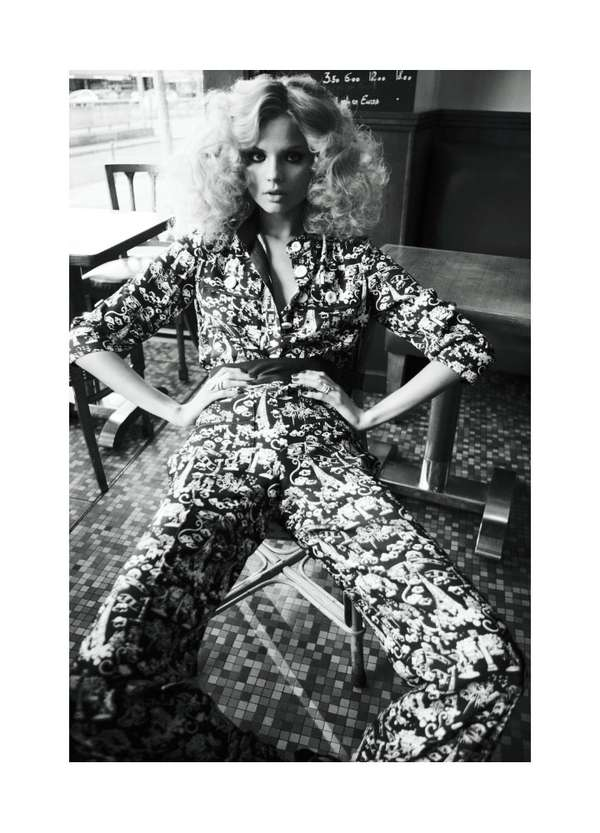 Big-Haired '70s Shoots