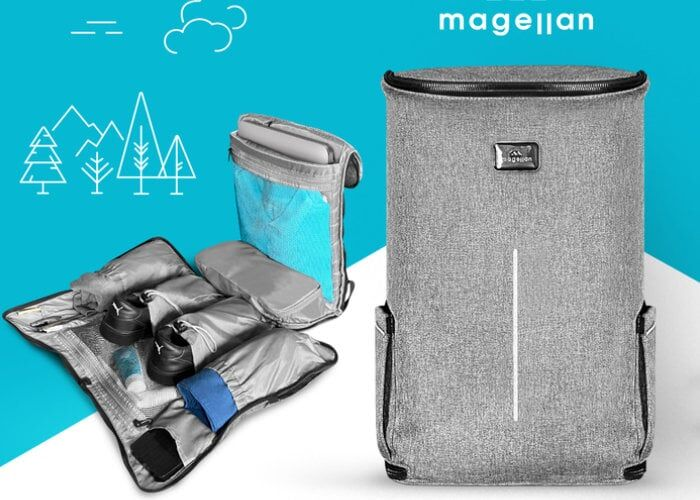 Easy Access Backpacker Luggage