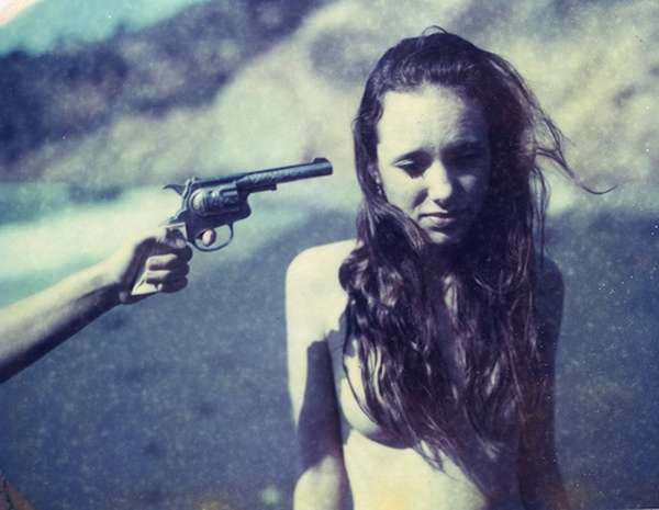 Girl At-Gunpoint Photography