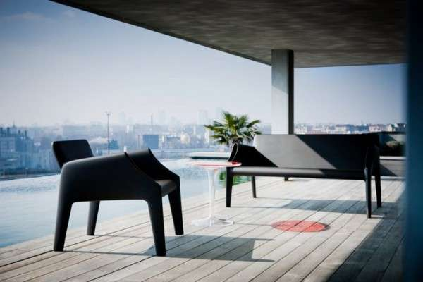 Otherworldly Outdoor Seats