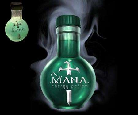 Magical Drink For Gamers Mana Energy Potion For Real