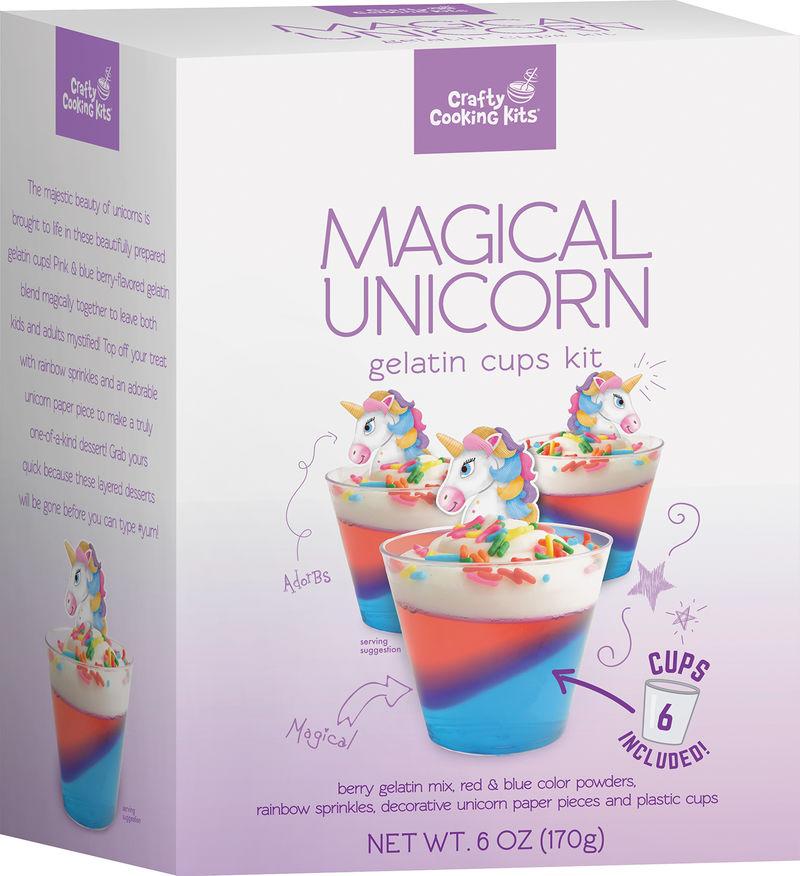 Unicorn-Themed Gelatin Kits