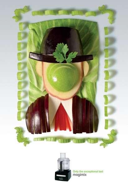 Veggie Artwork Ads