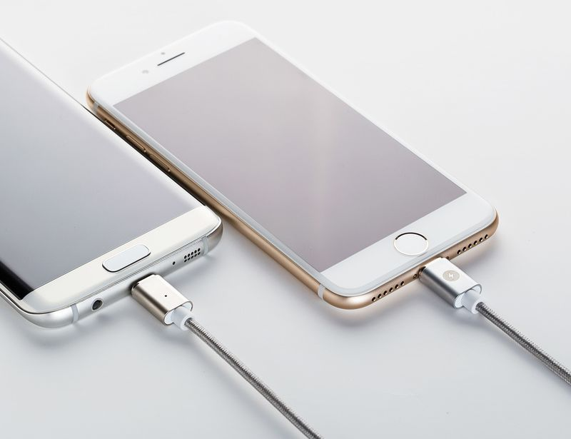 Magnetic Smartphone Charging Connectors