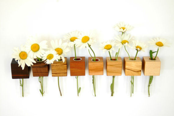 Floating Magnetic Flower Holders