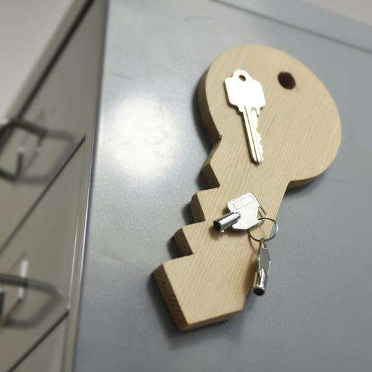 DIY Magnetic Key Holders