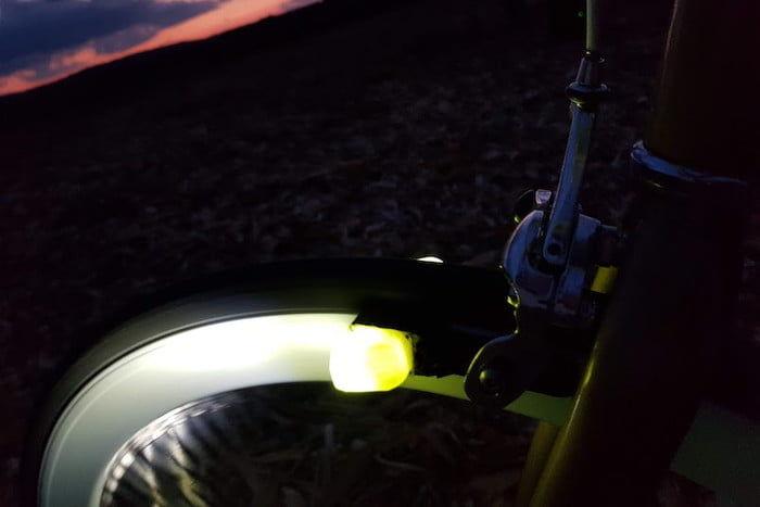 Magnetic Field Bike Lights