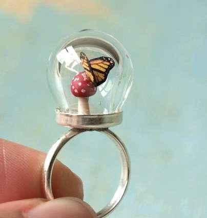 Mini Terrarium Jewelry