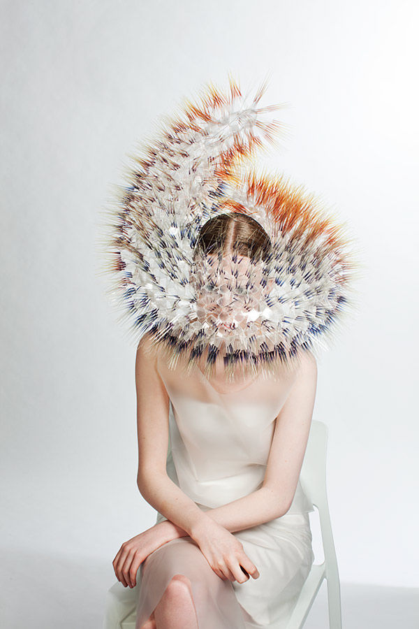 Hedgehog-Inspired Headdresses