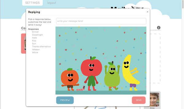 Pre-Schooler Email Apps