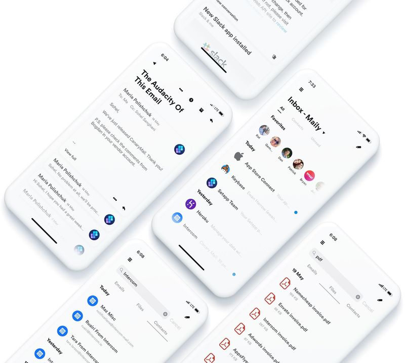 Super Simple Mail Apps
