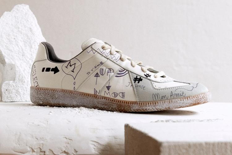 Handwritten Graffiti Sneakers