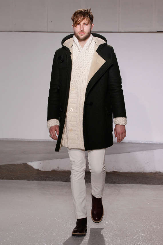 Luxe Overlapped Menswear