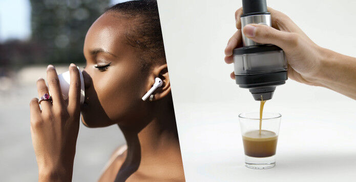 CO2-Powered Mobile Espresso Makers