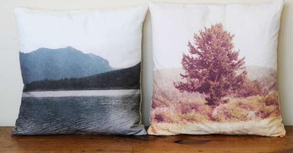 DIY Scenic Cushions