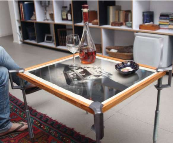 C-Clamp Coffee Tables