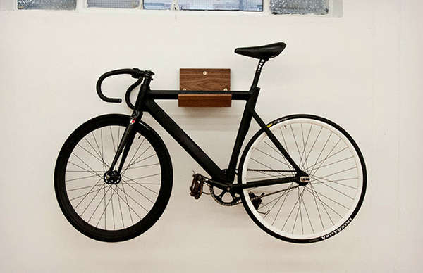 Minimalist Cycle Storage : Make Bike Rack