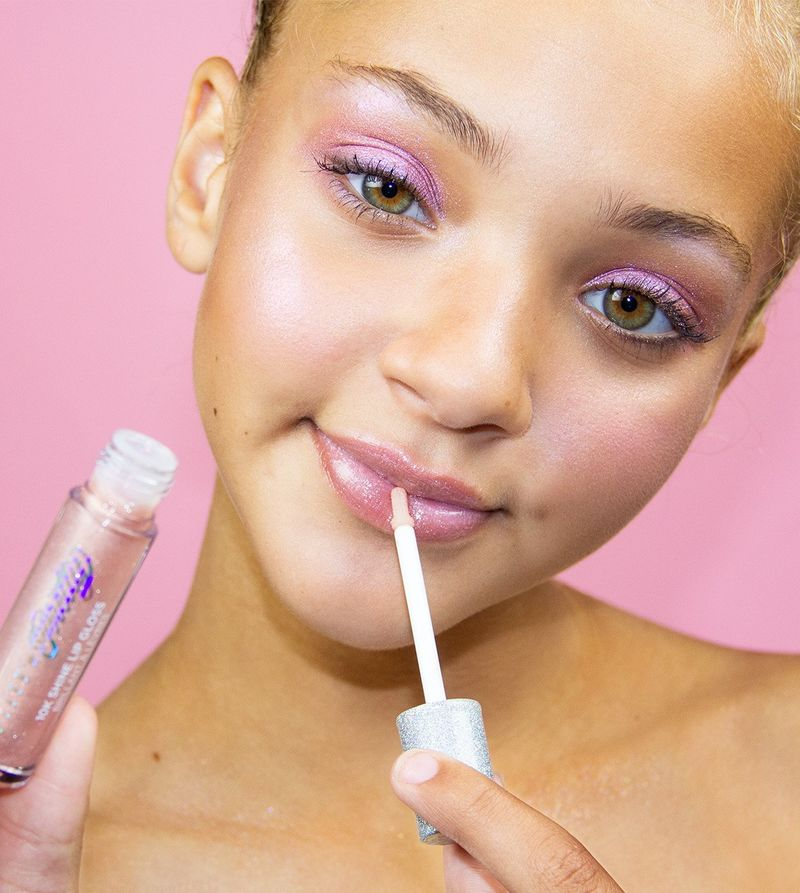 Expressive Gen Z Cosmetics Makeup For