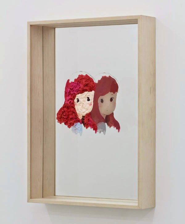 Reflected Anime Paintings