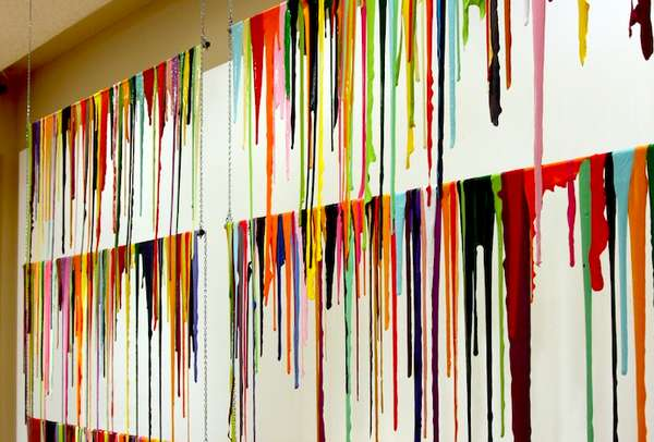 Paint Drip Installations