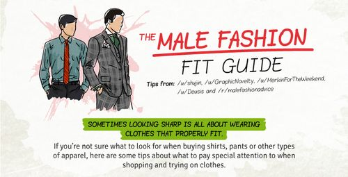 Manly Clothing Size Guides