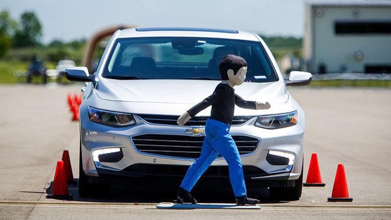 Pedestrian-Avoiding Cars