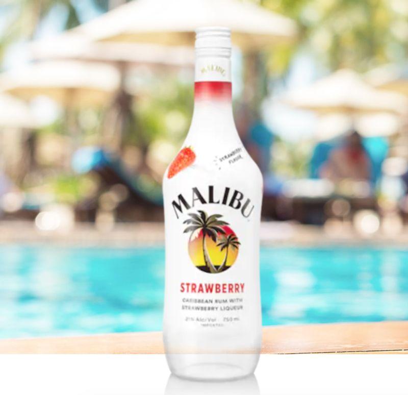 Seasonal Strawberry-Flavored Rums