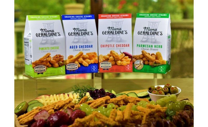 Rebranded Crunchy Cheese Snacks