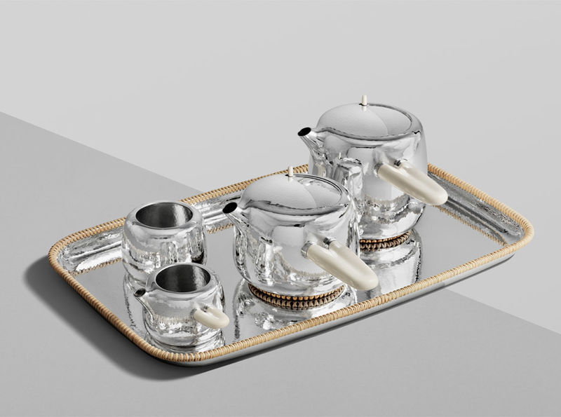 Mammoth Tusk Tea Sets