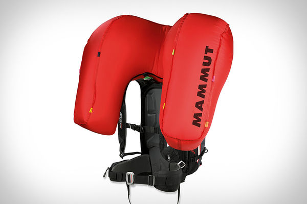 Stowable Airbag Backpacks