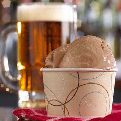 Boozy Italian Ice Cream