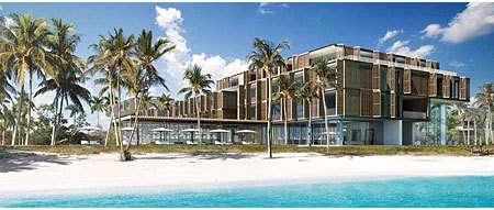 Tropical Beach Hutels