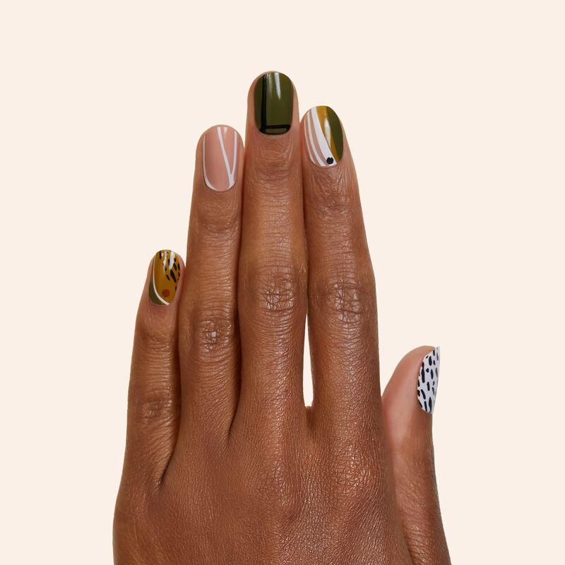 Stick-On Gel Manicures