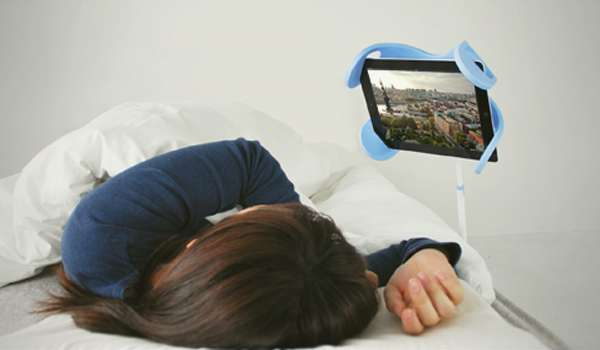 ipad holder for bed bedside tablet holders manitee holder 12771