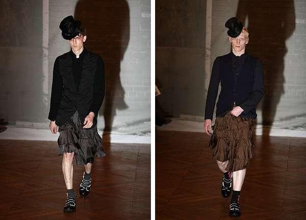 Skirts For Men Comme Des Garcons Manskirt Couture