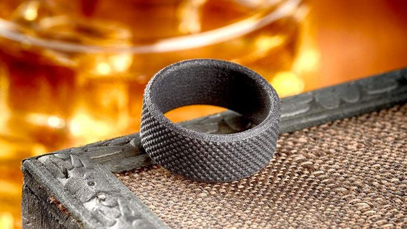 Rugged Masculine Wedding Rings