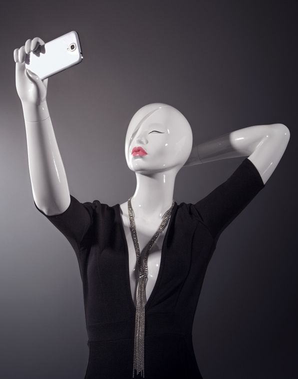 Selfie-Taking Mannequins