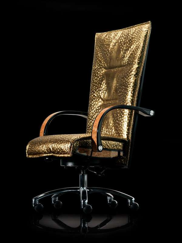Luxurious office chairs Real Leather Luxury Supercar Furniture Luxdeco Luxury Supercar Furniture Mansory Office Chair