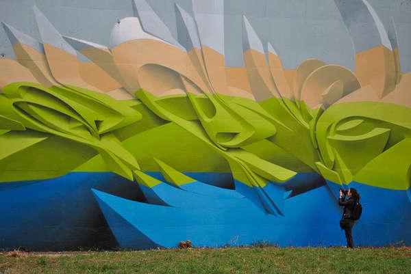Exquisite 3D Grafitti