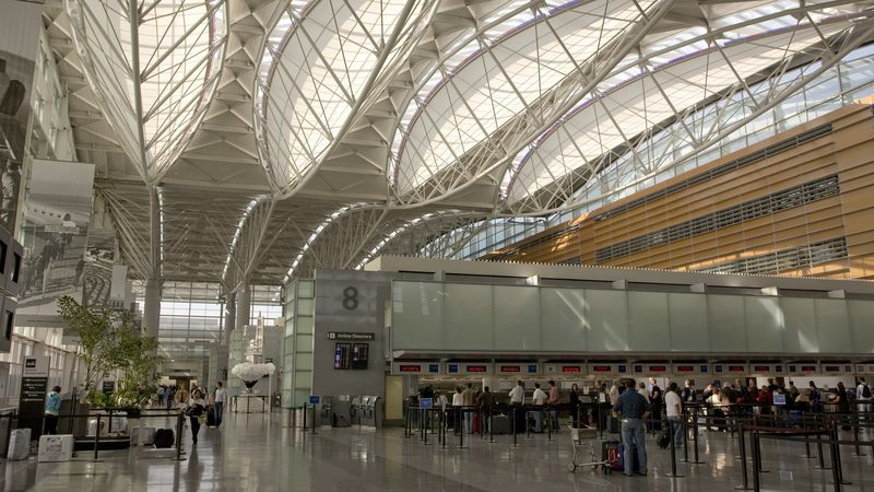 Large-Scale Airport Food Halls