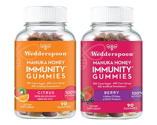 Honey-Infused Immunity Gummies