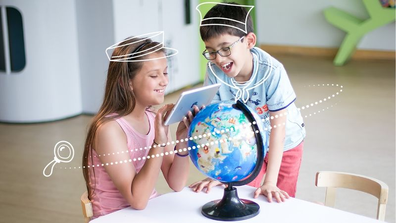 Augmented Reality Globes