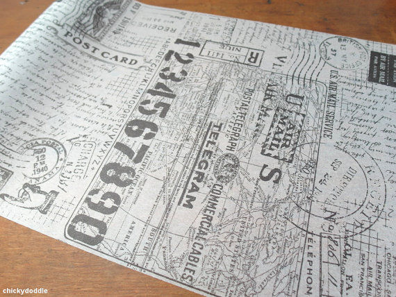 Cartographic Tissue Paper