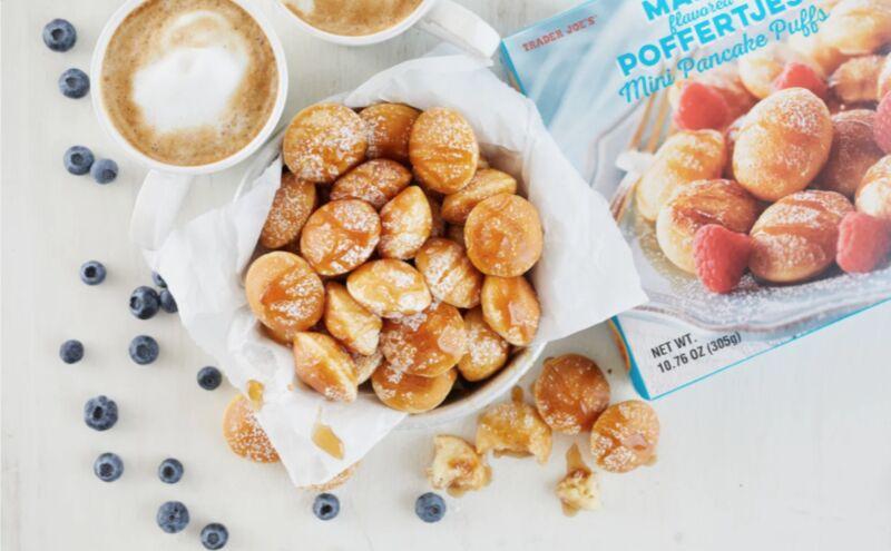 Miniature Maple Pancakes