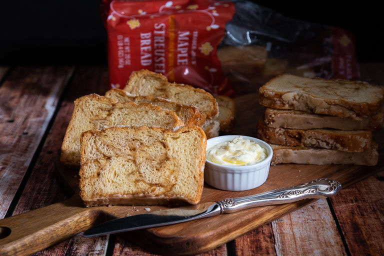 Swirled Maple-Flavored Breads