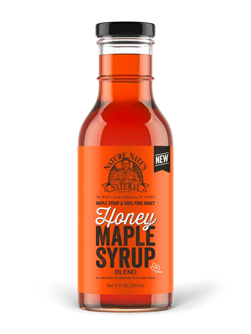 Honey-Based Maple Syrups